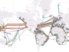 Mapa podmořských kabelů