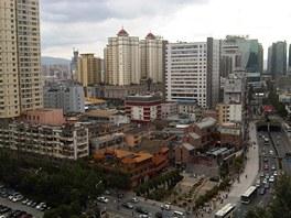Kunming, Čína (červenec 2012)