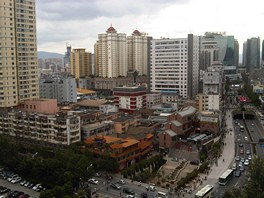 Kunming, ��na (�ervenec 2012)