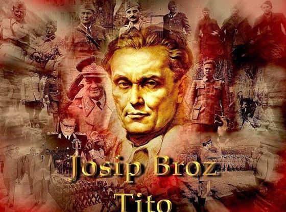 Josip Broz Tito coby hrdinsk� n�m�t pro po��ta�ovou tapetu