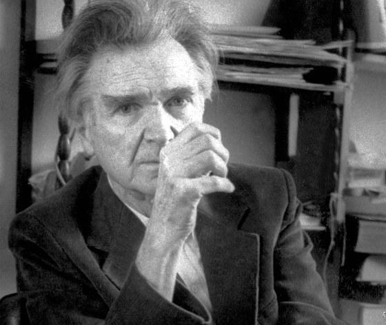 Emil Cioran (1911-1995) rumunsk� filozof a aforista, kter� p�es�dlil do Francie