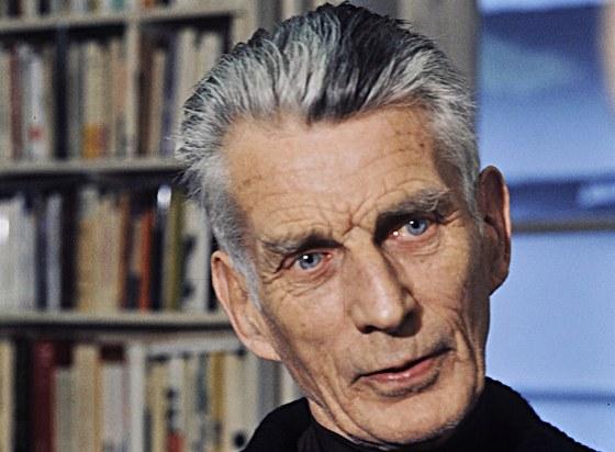 Samuel Barclay Beckett (1906-1989) irsk� dramatik a prozaik; na sn�mku z roku