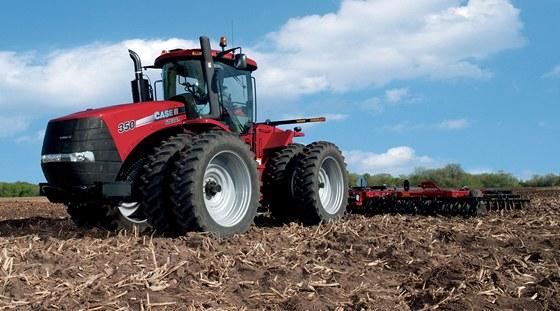 Traktor Case 350 Steiger