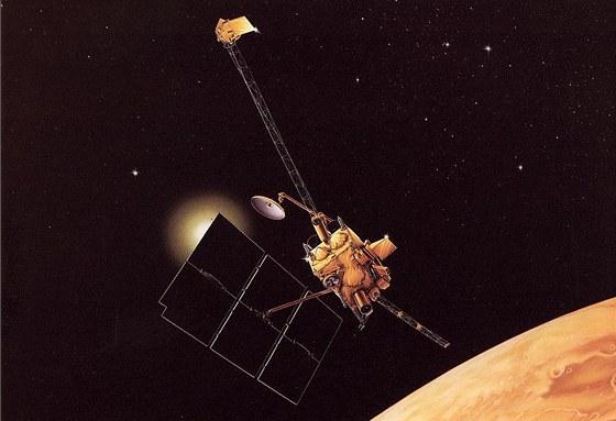 Mars Observer, tunová sonda ztracená v roce 1983, tři dny před vstupem na