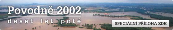 Povodn� 2002 / deset let pot� - speci�ln� p��loha