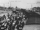 Jaro 1945. P��jezd ma�arsk�ch �id� do Osv�timi
