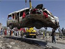 N�sledky atent�tu na z�padn�m p�edm�st� K�bulu (7. srpna 2012)