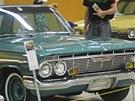 Výstava amerických aut na �erné louce v Ostrav�