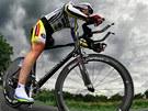 Vůle nevzdat to a odhodlání vítězit. Jednonohý cyklista Michal Stark toho