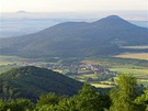Hora Lovoš nad Lovosicemi