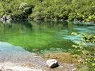 Procházku okolo jezera zpestřuje návštěvníkům naučná stezka.