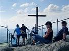 Vrcholový kříž na Paličníku