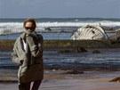 Velryby uvázlé na m�l�in� jsou v Austrálii pom�rn� b�ným jevem. Tentokrát ale...