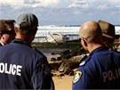 Na p�ítomnost velryby v bazénu upozornil místní média plavec, který si p�i�el...