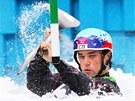 �esk� kajak�� Vav�inec Hradilek postoupil do olympijsk�ho fin�le. (1. srpna