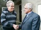 Na zámek za Zemanem přijel před lety i prezident Václav Klaus, který využívá