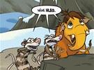 Z komiksu Doba ledová