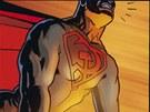 Z komiksu Superman - Rudá hvězda