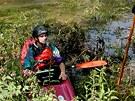 P�i srpnov� povodni byla hladina Berounky v Darov� na Rokycansku o metr a p�l