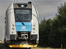 Hlavový vůz stejnosměrné třívozové jednotky Regiopanter je vybaven samočinným