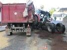 Devaten�ctilet� �idi� traktoru nezvl�dl prudk� kles�n�, ztratil nad strojem