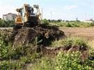 Na jihu Olomouce po řadě odkladů konečně opět pokračuje budování ochrany města