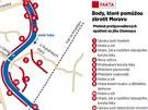Shrnutí protipovodňových opatření na jihu Olomouce.