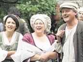 Jitka Smutná (uprostřed) hrála i v pohádce Kouzla králů.