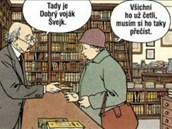 Z komiksu Jonáš Fink - Dospívání