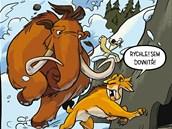 Z komiksu Doba ledov�