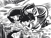 Z komiksu Habíbí