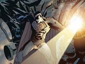 Z komiksu Superman - Rud� hv�zda