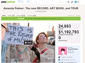 Kickstarter.com: Amanda Palmer zajistila úspěch svojí kampani i propracovaným...