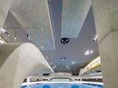 London Aquatics Centre - skokanská věž