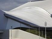 London Aquatics Centre a jeho unikátní střecha