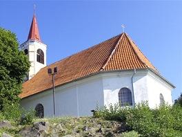 Kostelík svaté Barbory v Dubičkách