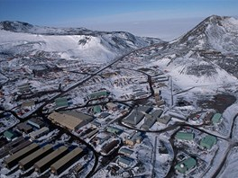 Polární stanice McMurdo na Antarktidě