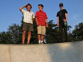 Hlídky v opavském skateboardovém areálu se pravidelně střídají.