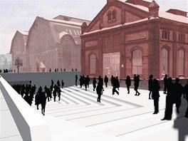 Při opravě Trojhalí vznikne nová podzemní hala, ze které budou lidé vstupovat