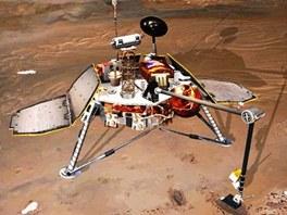 Mars Polar Lander, který byl ztracen při pokusu o přistání na Marsu