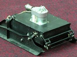Vozítko Prop-M, které mělo být prvním lidským výtvorem pohybujícím se po