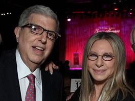 Marvin Hamlisch a Barbra Streisandov�