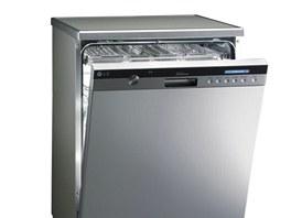 Novinka od LG používá na mytí nádobí páru, ale lze využít i vodu.