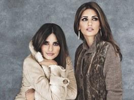 Pen�lope Cruzov� a jej� sestra Monica v reklam� pro Charles V�gele (2011)
