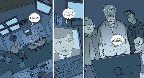 Ukázka z komiksového románu Wild Children (Divoké děti) Aleše Kota