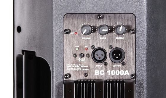 Dexon BC 1000A - zadn panel