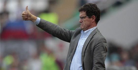 SKVĚLE, KLUCI! Italský trenér Fabio Capello chválí svůj nový tým - reprezentaci