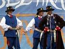 Festival Folklor bez hranic v Ostravě. (13. srpna 2012)
