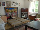 Pokoj, ubytovna Božkova, Ostrava (16. srpna 2012)