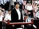 Ku Kchaj-laj, man�elka ��nsk�ho politika Po Si-laje, u soudu